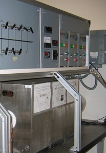 Furnace at Stanford University for Spectral Measurements and Line Broadening Temperature dependency