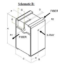 Half Slit Hot Fiber X Ray