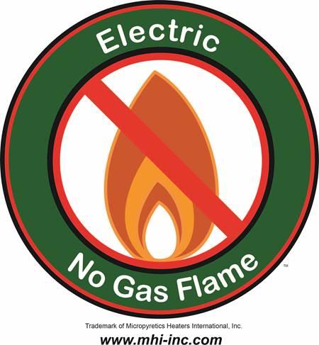 No flame or sound