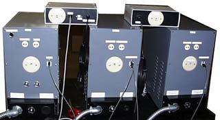 HIPAN control panel back
