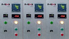 HIPAN controllers for three zone furnaces