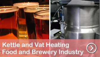 MHI Food and Brewery Kettle and Vat Heating Solutions