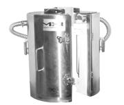 vertical split tube furnace