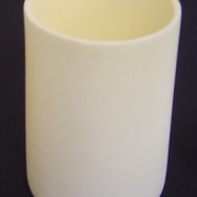 LArge Alumina Ceramic Crucible Clean Pure