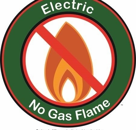 World Logo No-gas Use Clean Electric