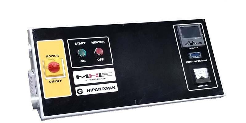 Versatile furnace and heater control panel