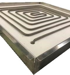 Large Square Thermoplate Coil