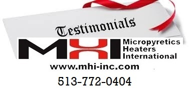 MHI Contact and Testimonials