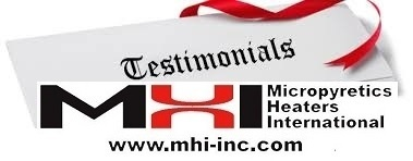 Customer Testimonials for MHI
