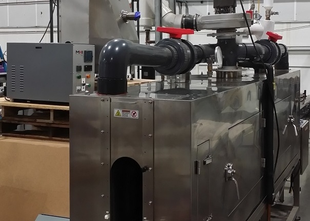 OAB instant steam for packaging